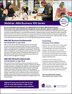 ABA Business Series Combo: ABA 101 and 102 Webinars