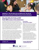 Professionalism Webinar May 2016