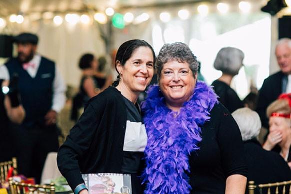 Ilene Schwartz and guest