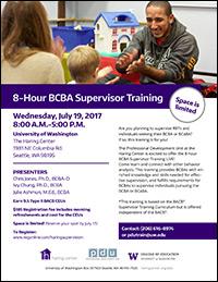 8-Hour BCBA Supervisor Training