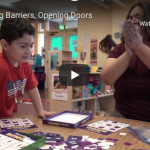 Lowering barriers opening doors